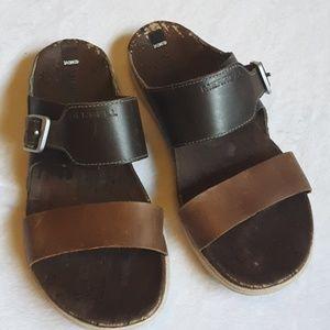 Merrel slide sandals